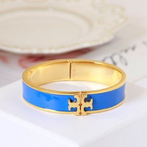 🎁NWT Tory Burch Wide Enamel Bangle